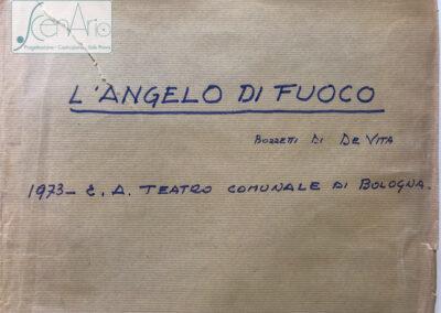 L'angelo di Fuoco 1973
