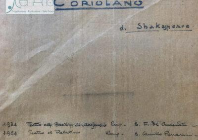 Coriolano 1954