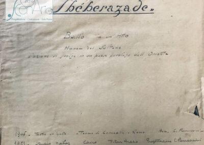 Shéhérazade 1945